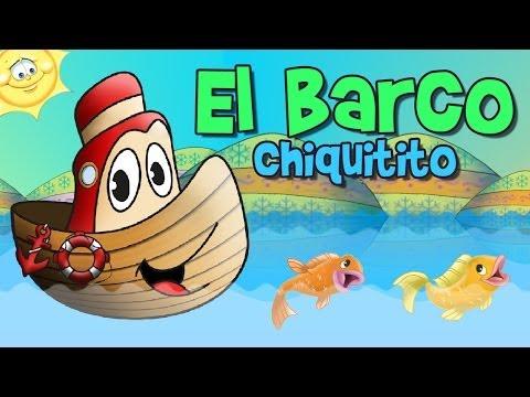 El Barquito Chiquitito (Rondas y Canciones Infantiles)