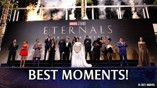 Marvel Studios' Eternals Red Carpet | Best Moments!