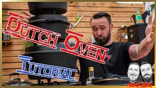 Dutch Oven für Einsteiger - Einbrennen | Größe | Reinigung | Pflege | Aufbewahrung | MGBBQ