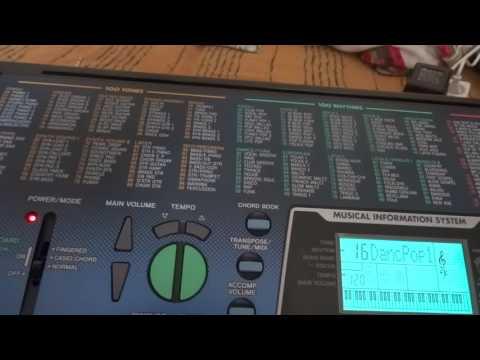 Casio CTK-511 szintetizátor