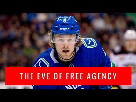 Vancouver Canucks VLOG: how will the Canucks spend money in free agency (Brock Boeser, Tyler Myers)