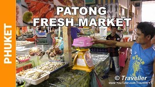 Banzaan Food Market In Patong Beach - Phuket Best Seafood Market - Phuket Attractions