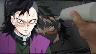 Genya Shinazugawa  - (Demon Slayer: Kimetsu no Yaiba) - Genya Shinazugawa Pancake Art - Kimetsu no Yaiba Demon Slayer