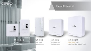 Y2015 - Wireless Hotel Solution Overview