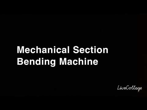 3 Roll Pipe Bending Machine
