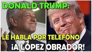 ¡SORPRENDE! Donald Trump CAE ante López Obrador - Campechaneando