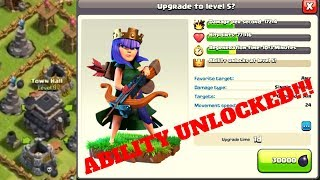 """UNLOCKING THE ROYAL CLOAK ABILITY!!! FAST FIXING A TOWN HALL 9 EPISODE 9!!! - """"CLASH OF CLANS"""""""