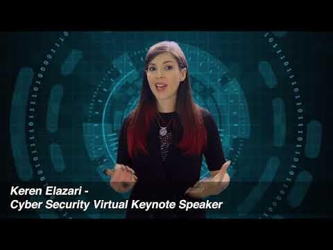 Keren Elazari Virtual Keynote Speaker - Cyber Security in Times of Crisis