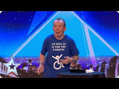 FIRST LOOK: Lost Voice Guy's HILARIOUS Audition   BGT 2018