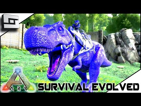 ARK Survival Evolved TAMING A 100 TREX BLUETOOTH S2E27 Gameplay U2014 Steemit