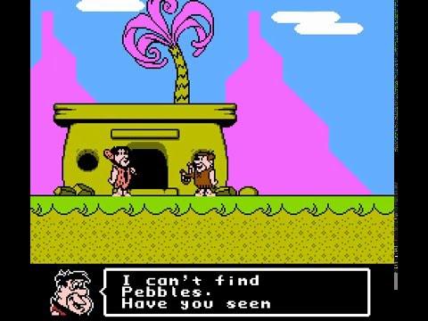 NES Longplay �89] The Flintstones: The Surprise at Dinosaur Peak!