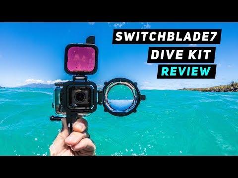 SwitchBlade7 Dive Kit for GoPro Hero5, Hero6 + Hero7   MicBergsma