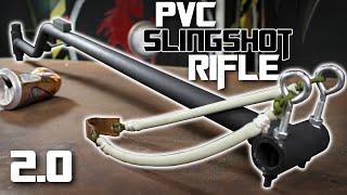 PVC Slingshot Rifle 2.0!!!