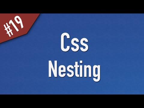 تعلم CSS القائمة #1 الفديو #19