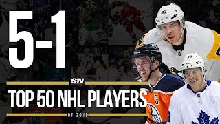 Top 50 NHL Players Of 2019 | 5-1