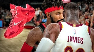 TROLLIN LEBRON JAMES WHILE WEARING HIS SHOES! NBA 2K18 My Career Gameplay Ep. 12