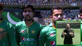 Fahad Farooque - GABBA (Brisbane) One Day International Pakistani Anthem  - 2017