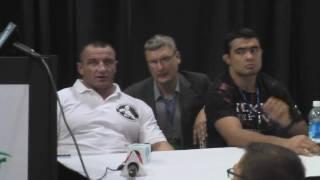 Moosin: Sylvia VS Pudzianowski post-fight press conference