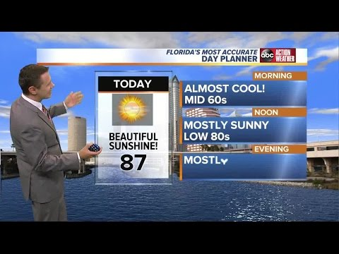 Florida's Most Accurate Forecast with Greg Dee on Friday, May 26, 2017