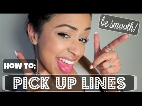 LEARN HOW TO FLIRT! PICK UP LINES WITH LIZZZA | Lizzza