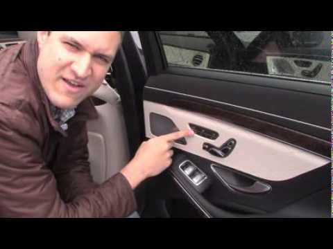 2014 Mercedes S-Class: Cool Features