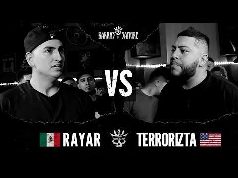 Barras De Sangre: Rayar 🇲🇽 vs El Terrorizta 🇺🇸 [ Batallas Escritas ]