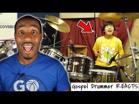 Gospel Drummer REACTS: Burn - Deep Purple / Covered by Yoyoka Soma