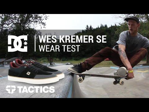 DC Wes Kremer S SE Skate Shoes Wear Test Review - Tactics.com