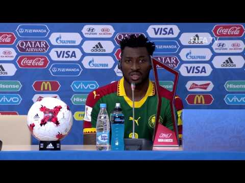 CMR v AUS - Andre-Frank Zambo Anguissa - Cameroon Post-Match Press Conference