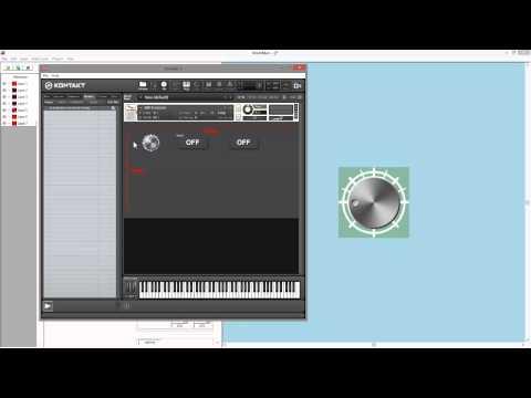 Kontakt Scripting. GUI. Video 3: Controls in KnobMan Tutorial