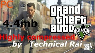 55MB] GTA 5 Highly Compressed Only 55Mb By PranavParmar Work