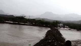 preview picture of video 'Massive Flood on route to Dhala yemen (طريق الضالع يمن ) PART1'