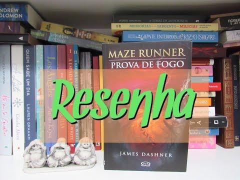 RESENHA | PROVA DE FOGO | MAZE RUNNER | Ep. #50