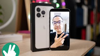 Apple iPhone 13 Pro Unboxing and first camera samples!