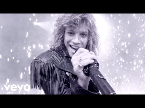 Bon Jovi - Livin' On A Prayer online metal music video by BON JOVI