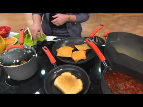 Rachael Ray Hard Anodized 12-Piece Cookware Set on QVC