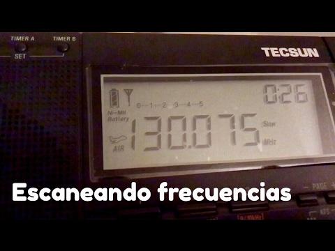 Escaneando frecuencias de radio