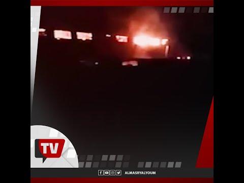 محاولات للسيطرة على حريق فى مصانع بمدينة بركة السبع فى المنوفيه