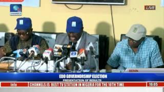 INEC Declares Godwin Obaseki Winner Of Edo Governorship Election