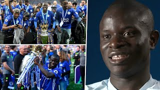 """""""It was an amazing year!"""" N'Golo Kanté looks ahead to special FA Cup final against his former club 🦊"""