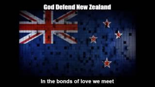 National Anthem of New Zealand (God Defend New Zealand) - Nightcore Style With Lyrics