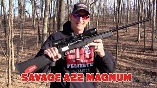Savage A22 Magnum : Rifle Review