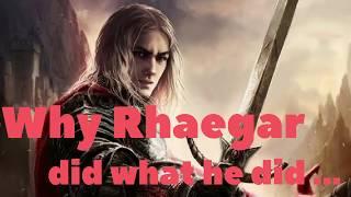 What did Rhaegar actually believe?
