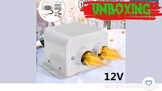 Unboxing 12V /24 V Car Heater, Luftheizung