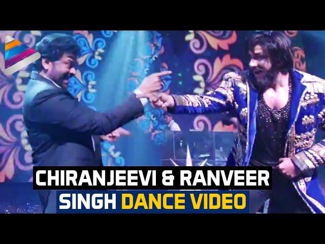 Chiranjeevi and Ranveer Singh Dance Video in Keshav Sangeet