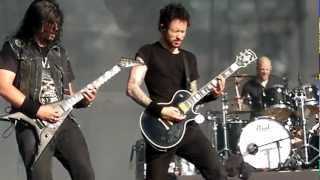 Trivium - Drowned and Torn Asunder & A Gunshot to the Head of Trepidation live at Tuska open air