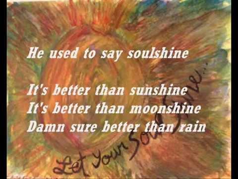 Soulshine + Lyrics - Allman Brothers Band