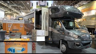PROTEC Q18 Slide-Outs Slideout Wohnmobil 2020 Walkaround Test Review Rundgang Luxuswohnmobile