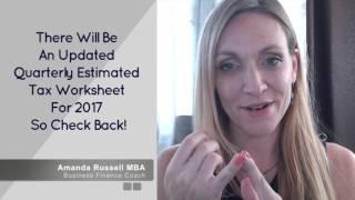 Quarterly Taxes [Worksheet #2: V1]