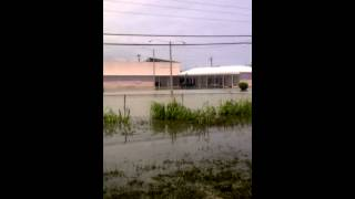 preview picture of video 'part 1 flooded emr freeport Grand bahama'